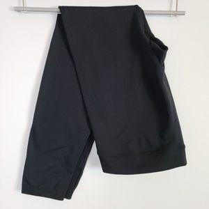 Rosie Pope black legging maternity fleece lined